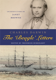 "This letter comes from ""The Beagle Letters"""
