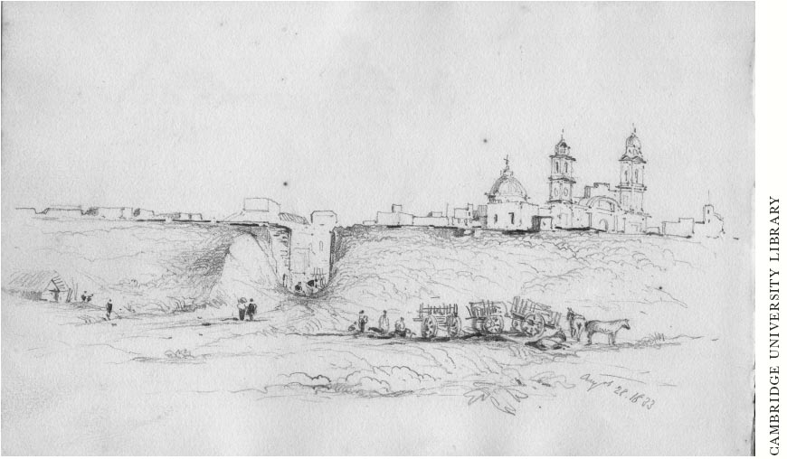 Outside the Walls of Montevideo, August, 1833