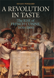 Susan pinkard french food history savante for 17th century french cuisine