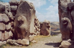Hittite fortress of Hattusas