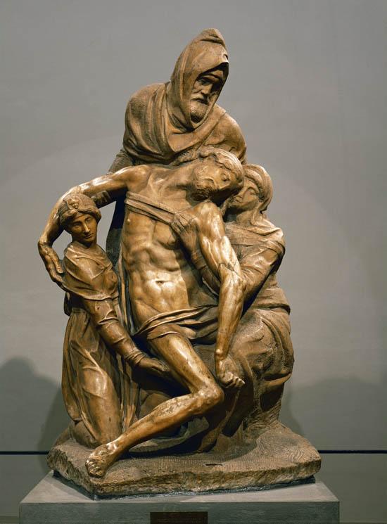 Michelangelo's Florentine Pieta