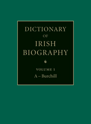 Dictionary of Irish Biography Cover