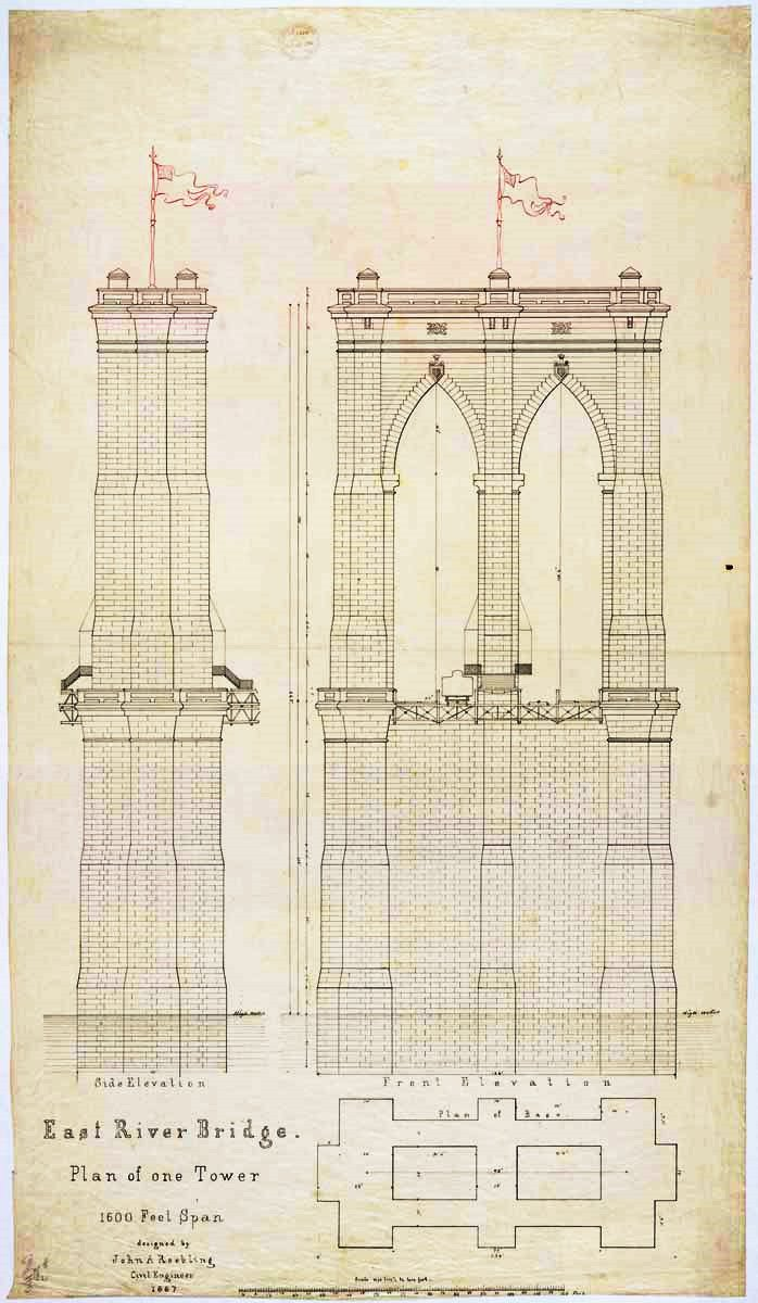 Brooklyn Bridge Schematic