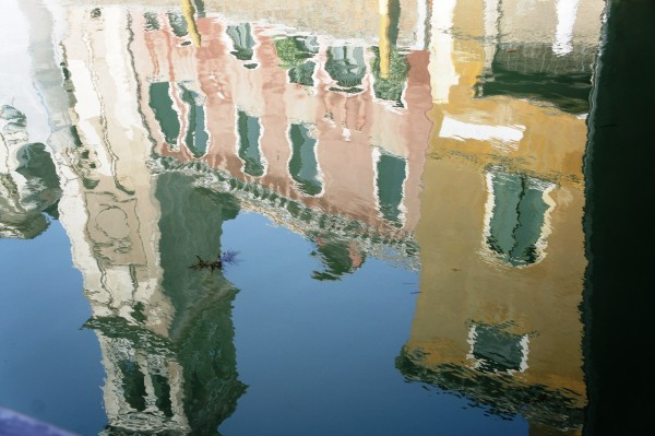 Canal Reflections by Joanne M. Ferraro