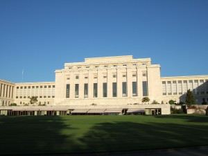 Former League of Nations headquarters in Geneva