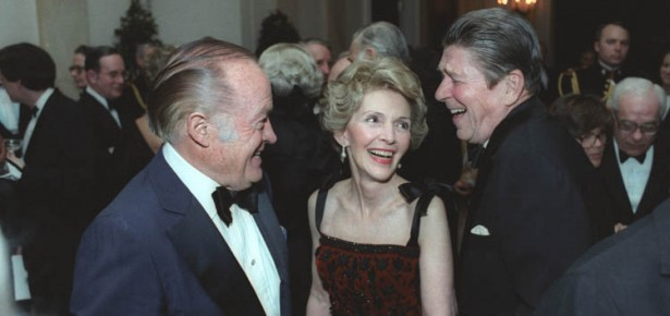 The Reagas with Bob Hope, 1981