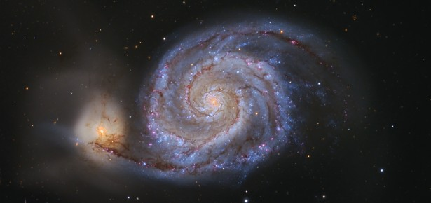 Whirlpool Galaxy, photo by Adam Block