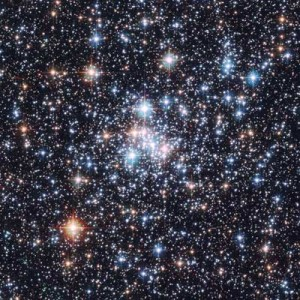 Star Cluster NGC 290, from the Hubble Telescope
