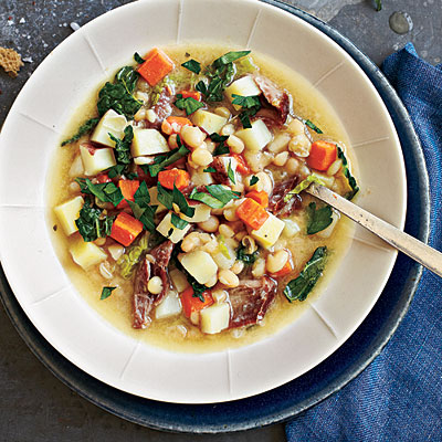 Garbure, Cooking Light Photo: Marcus Nilsson; Styling: Angharad Bailey