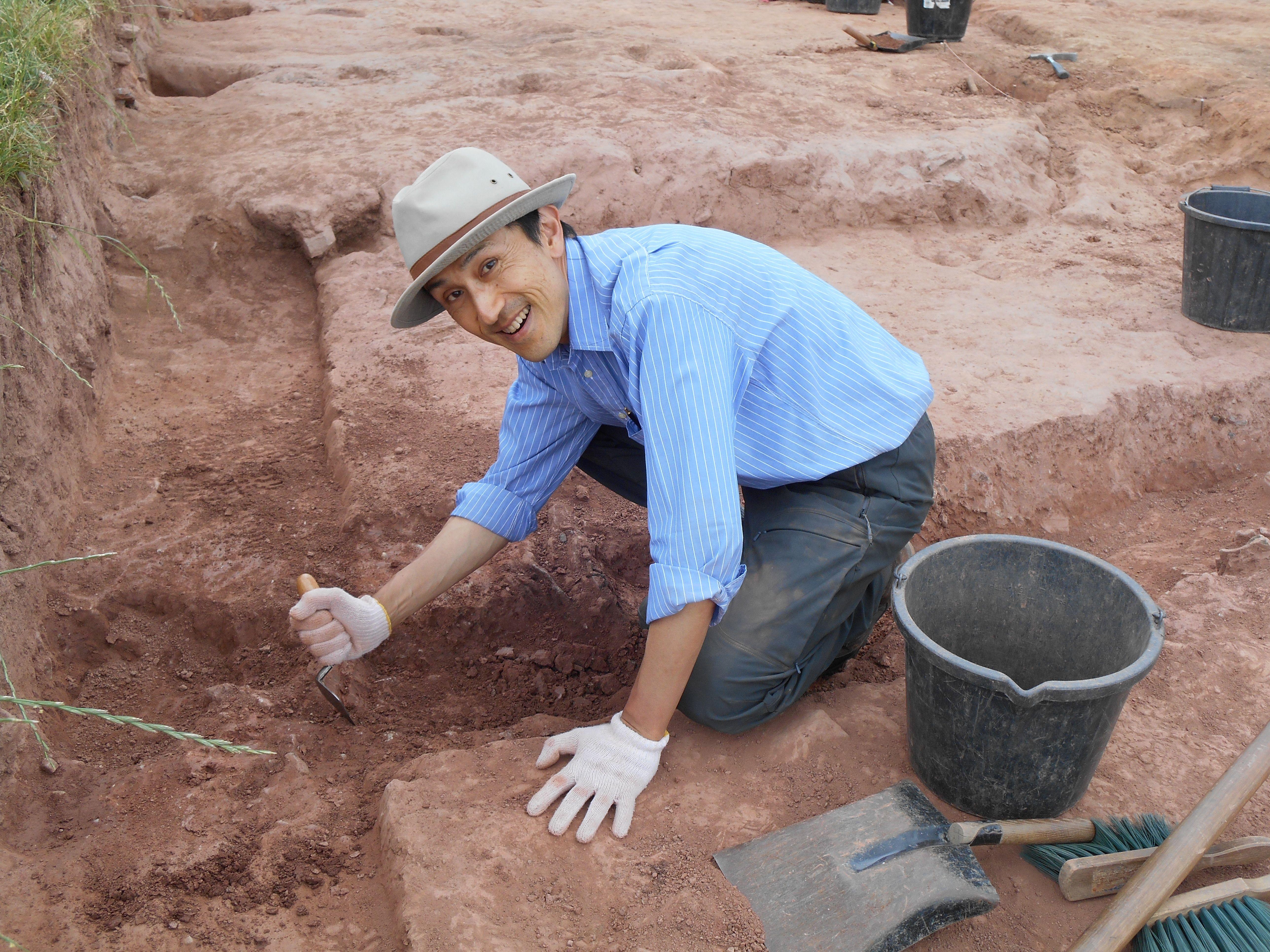 Koji Mizoguchi, Professor of Archaeology at Kyushu University