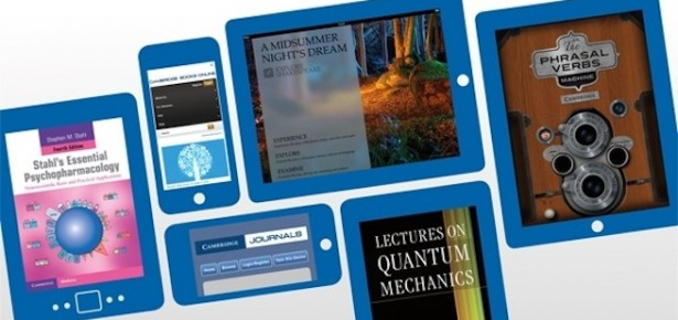Academic products on digital devices - iPad, iPhone, Kindle