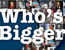 Who's Bigger
