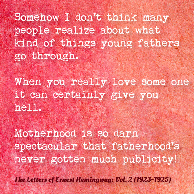 Love the Hemingway Way  FifteenEightyFour  Cambridge University
