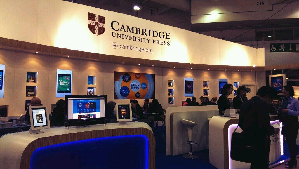 Our stand on Day One of the London Book Fair
