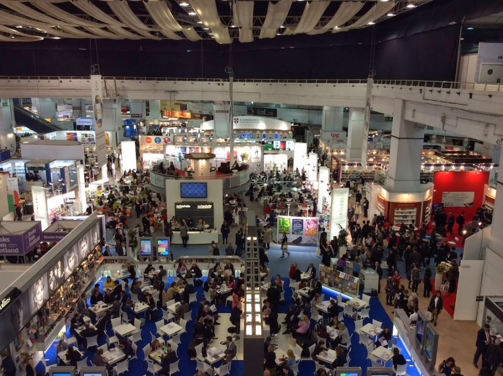 A busy second day at London Book Fair 2014.