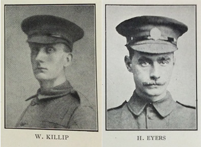 William Killip and Harold Eyers. Reproduced by kind permission  of the Syndics of Cambridge University Library.