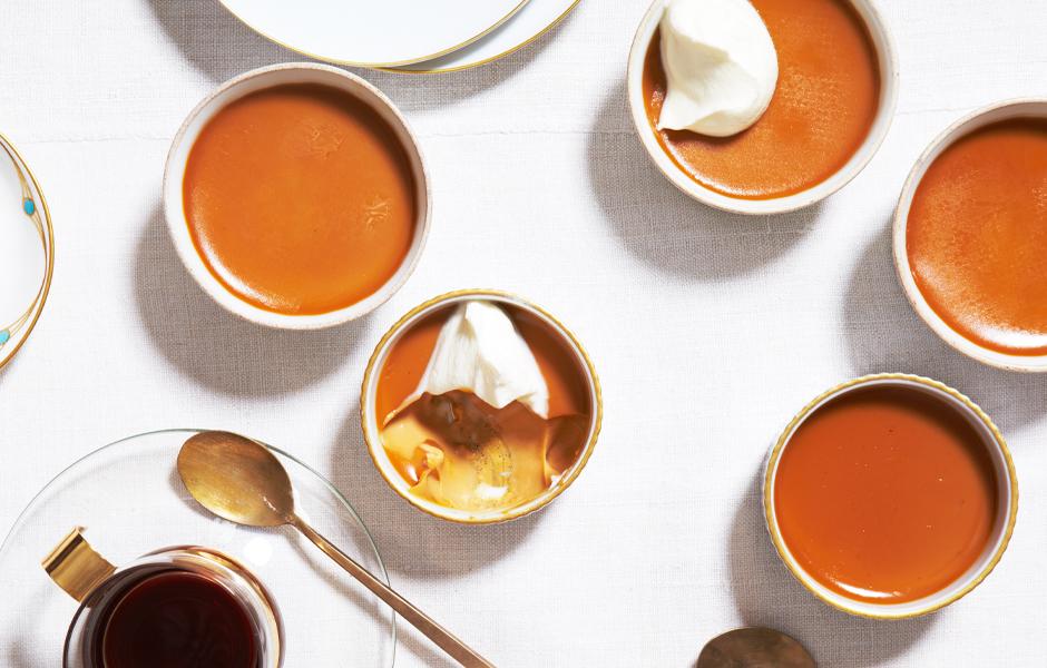 burnt-caramel-custards