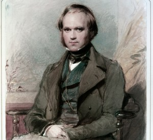 A young Charles Darwin.