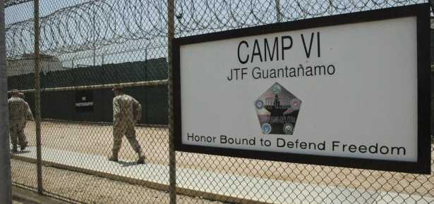 Detention center at Guantanamo Bay US Naval Base, in Cuba