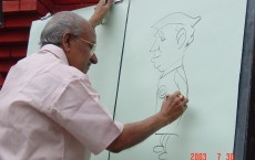 Cartoonist Yesudasan