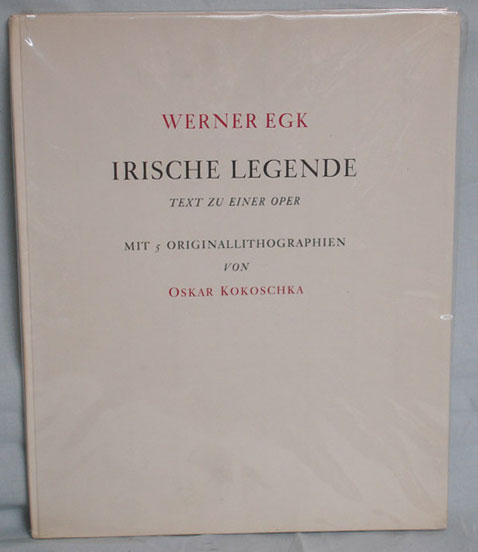Werner Egk's 'Irische Legende' - an opera based on Yeats' The Countless Cathleen.