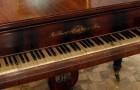 Piano frances Erard con caja de Palissandre, pertenecio a Andres Bello.   Donado por Anibal Mena Larrain al Museo del Carmen, ubicado en Maipu, Santiago de Chile.