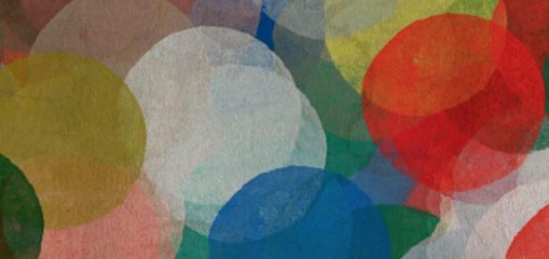 Coloured circles.