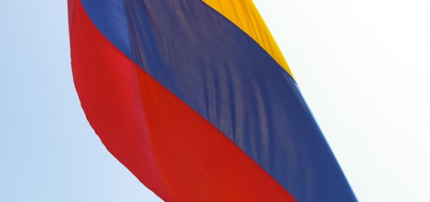 Colombian flag. Photo: Bryan Pocius via Creative Commons.