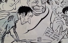 R. K. Laxman on celebrating India's 27th year of freedom (1974).