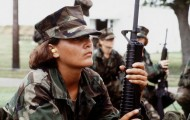 Female marine. Photo: Expert Infantry via Creative Commons.