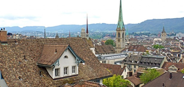 Zurich. Photo: Dennis Jarvis via Creative Commons.
