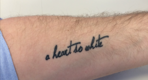 Morten Jensen of our New York City office knows Hamlet like the back of his hand (or the front of his arm).