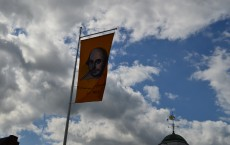shakespeare flag