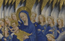 'The Wilton Diptych' (detail) (C) National Gallery, London