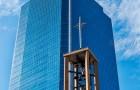 Church and Skyscraper