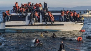 Syrian and Iraq refugees in Mediterranean