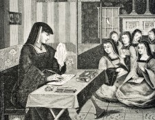 A9ARNE Court of the Ladies of Queen Anne of Brittany 1477 to 1514