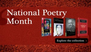 National Poetry Month hero banner