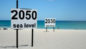 Original photo by go_greener_oz Rising sea levels. Creative commons Licence