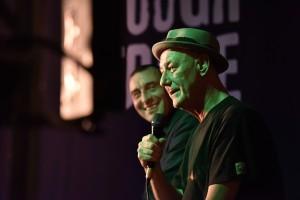Matt and Steve on stage