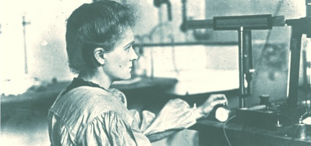 Photograph of Marie Curie. From ACJC-Curie and Joliot-Curie fund, with permission.