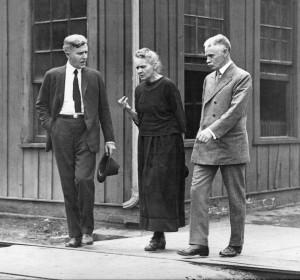 Marie Curie in 1921