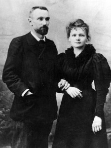 Pierre and Marie Curie in 1895