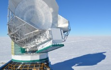 The (Microwave) View from the South Pole (photo credit: Brad Benson)