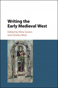 Writing the Early Medieval West_Cover