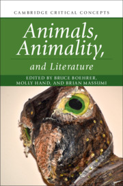Animals Animaility and Literature, edited by Molly Hand