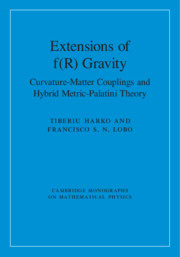 Extensions of f(R) Gravity by Tiberiu Harko and Francisco S. N. Lobo