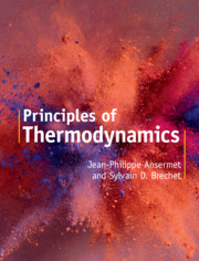 Principles of Thermodynamics by Jean-Philippe Ansermet , Sylvain D. Brechet