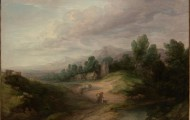 Wooded Upland Landscape - Thomas Gainsborough