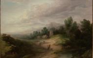 Wooded Upland Landscape - Thomas Gainsborough